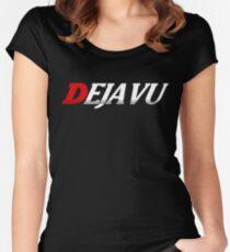 Initial Deja Vu Women's Fitted Scoop T-Shirt