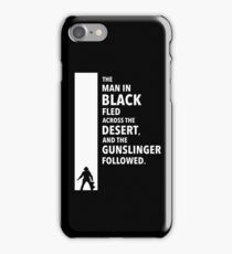 The Dark Tower Desert white iPhone Case/Skin