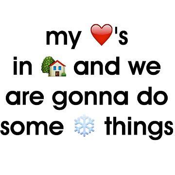 Winter Things - Sweatshirt by WieskeV