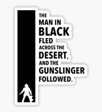 The Dark Tower Desert Sticker
