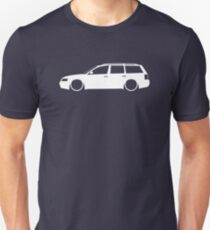 Lowered car for VW Passat B5 Wagon 1997-2000 enthusiasts T-Shirt