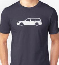 Lowered car for VW Passat B5 Wagon 1997-2000 enthusiasts Unisex T-Shirt