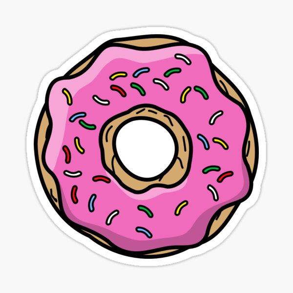 Simpson Donut Sticker