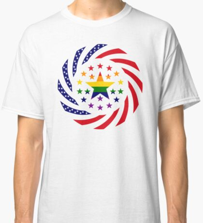 Love is Love American Flag 2.0 Classic T-Shirt