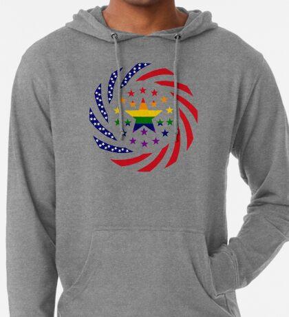 Love is Love American Flag 2.0 Lightweight Hoodie