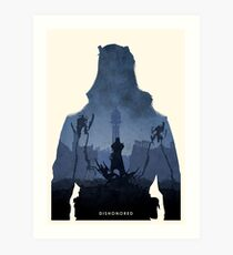 Dishonored Art Print