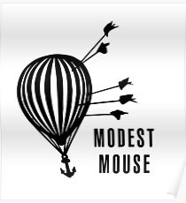 Modest Mouse Good News Before the Ship Sank Combined Album Covers Poster