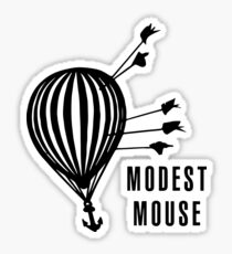 Modest Mouse Good News Before the Ship Sank Combined Album Covers Sticker