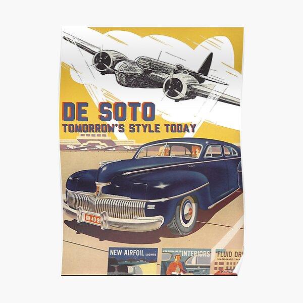 De Soto Poster