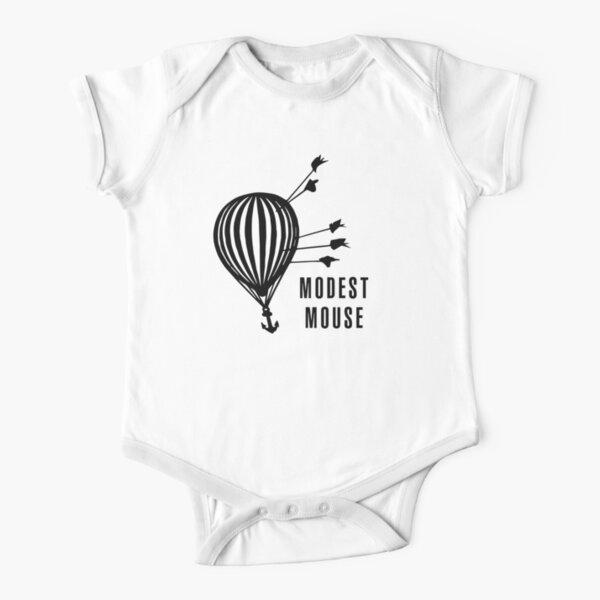 Modest Mouse Good News Before the Ship Sank Combined Album Covers Short Sleeve Baby One-Piece