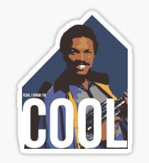 Yeah, I know I'm cool - colour Sticker
