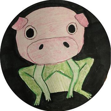 Pig and Frog Combination by AllisonKe