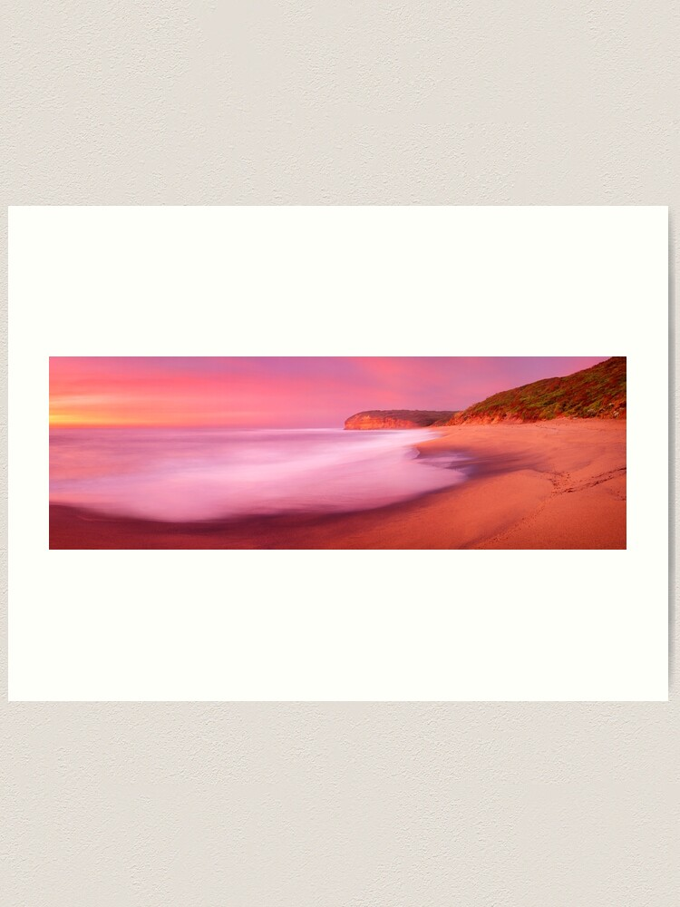 Alternate view of Bells Beach, Victoria, Australia Art Print