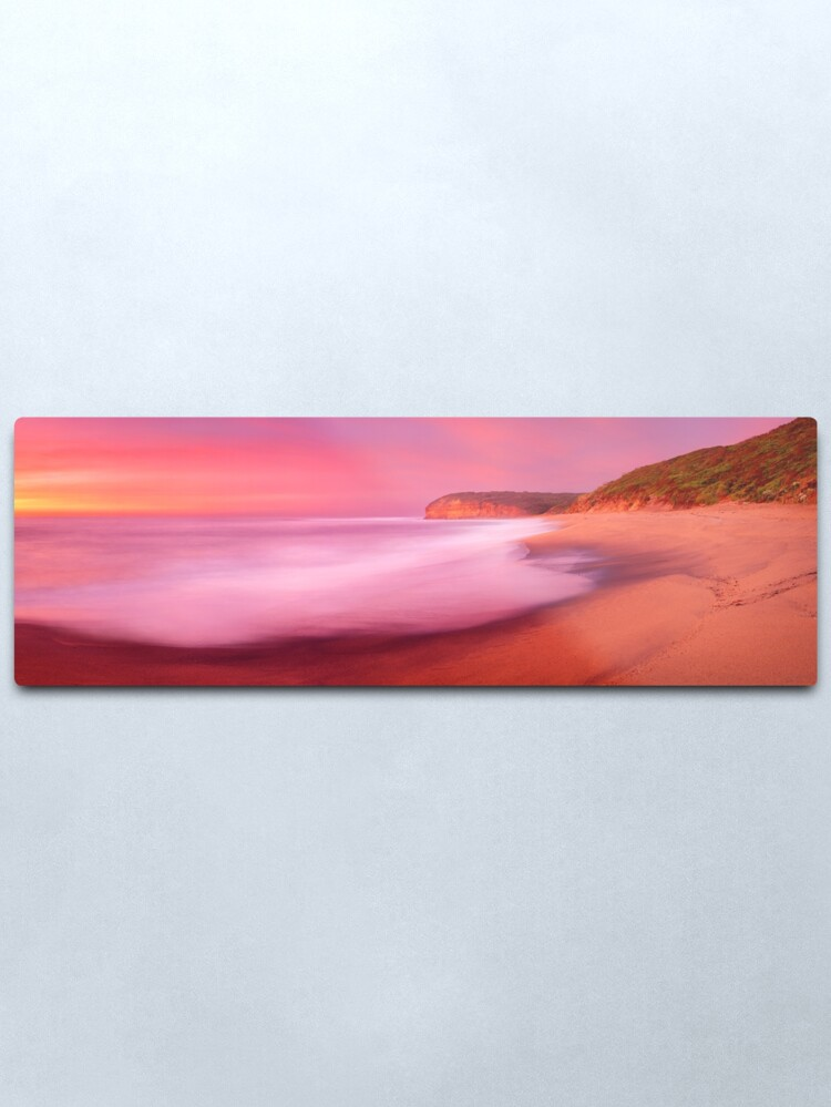 Alternate view of Bells Beach, Victoria, Australia Metal Print
