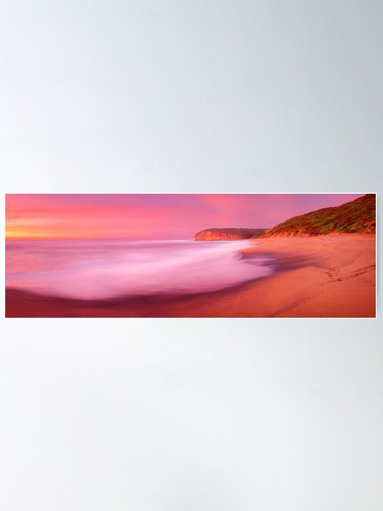 Alternate view of Bells Beach, Victoria, Australia Poster