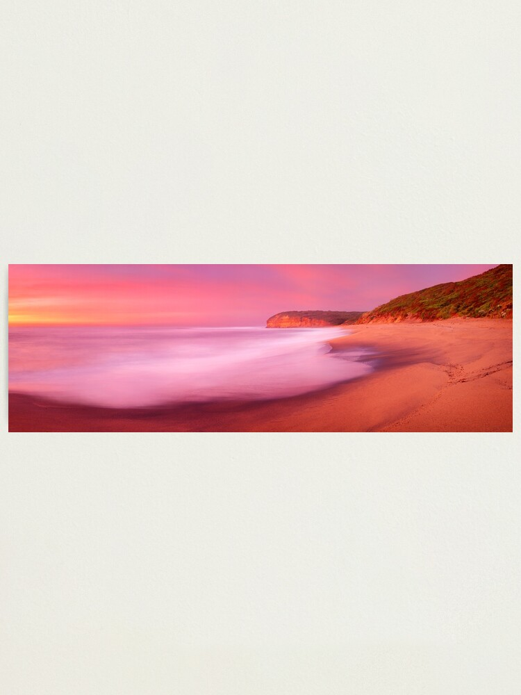 Alternate view of Bells Beach, Victoria, Australia Photographic Print