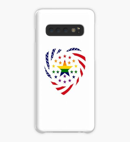 Love is Love American Flag 2.0 (Heart) Case/Skin for Samsung Galaxy