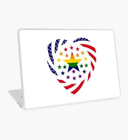 Love is Love American Flag 2.0 (Heart) Laptop Skin