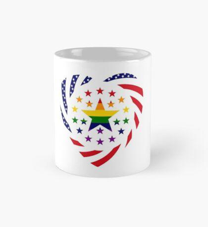 Love is Love American Flag 2.0 (Heart) Mug