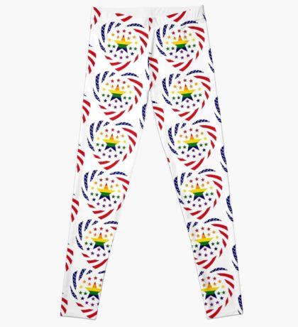 Love is Love American Flag 2.0 (Heart) Leggings