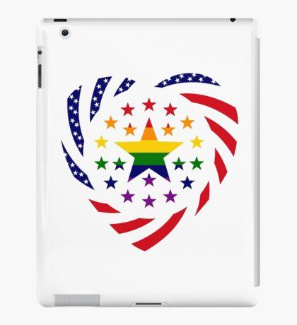 Love is Love American Flag 2.0 (Heart) iPad Case/Skin