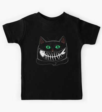 Fish Eating Grin Kids Clothes