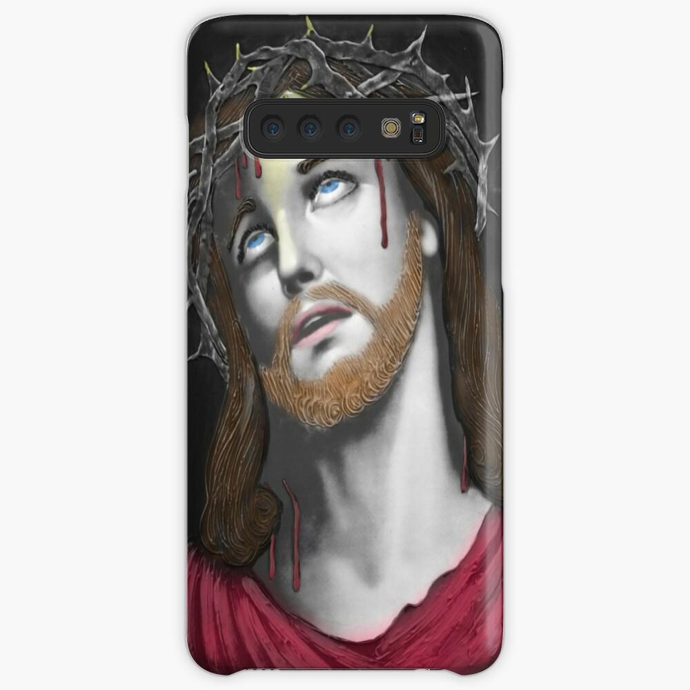 Artful Jesus Funda y vinilo para Samsung Galaxy