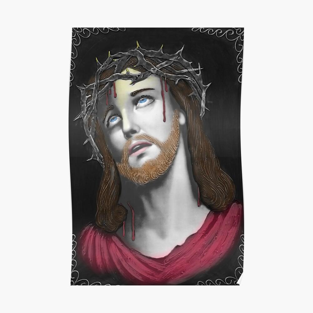 Artful Jesus Póster