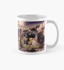 Draco the Dragon abstract in window Mug
