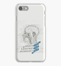 Speech Language Pathology Antique Anatomy iPhone Case/Skin