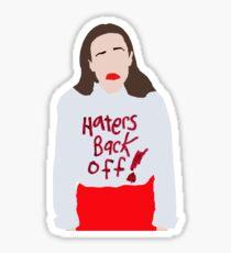 miranda sings haters back off! Sticker