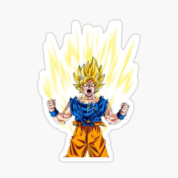 Goku Super Saiyan Sticker