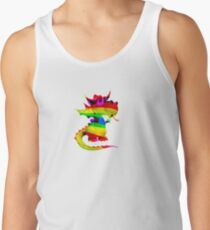 Rainbow Draco the Dragon  Tank Top