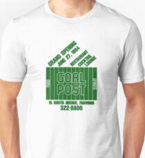 Goal Post (Variation 1) Green Unisex T-Shirt