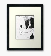 Goofy Framed Print