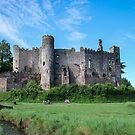 Laugharne Castle  in South Wales by 29Breizh33