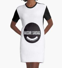 Massive Sausage Graphic T-Shirt Dress