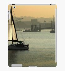 Sunset sailing iPad Case/Skin