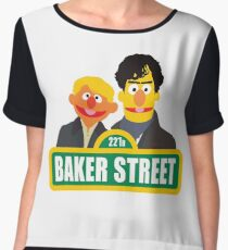 221B Baker Street - Sherlock Chiffon Top