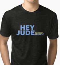 BEATLES - HEY JUDE Tri-blend T-Shirt