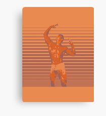 Bodybuilder - Dream Big (Gym Rat) Canvas Print
