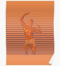 Bodybuilder - Dream Big (Gym Rat) Poster