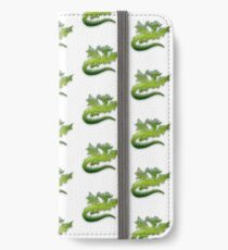 Green flying Dragons iPhone Wallet/Case/Skin