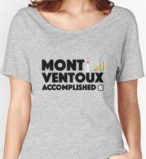 Mont Ventoux Accomplished Cycling Tour De France Women's Relaxed Fit T-Shirt