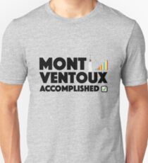 Mont Ventoux Accomplished Cycling Tour De France Unisex T-Shirt