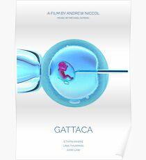 Gattaca, film, Ethan Hawke, Uma Thurman, Jude Law Póster