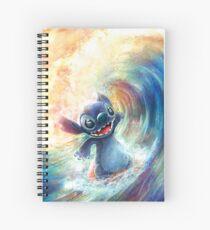 Surfing Stitch Spiral Notebook