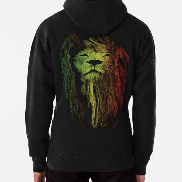 Rasta Lion Sudadera con capucha