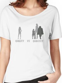 Quality VS Quantity Women's Relaxed Fit T-Shirt