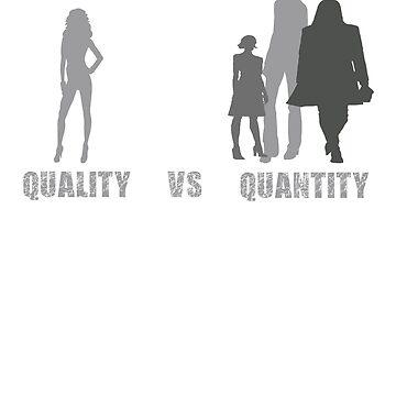 Quality VS Quantity by njsapparel